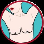 Формы груди блюдца