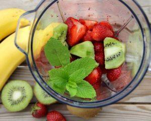 Измельчаются фрукты