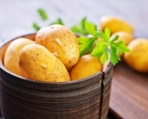 картофель в емкости