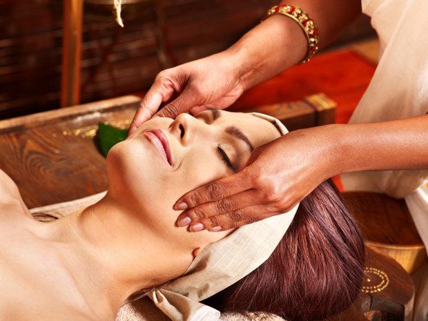 носогубные складки индийский массаж
