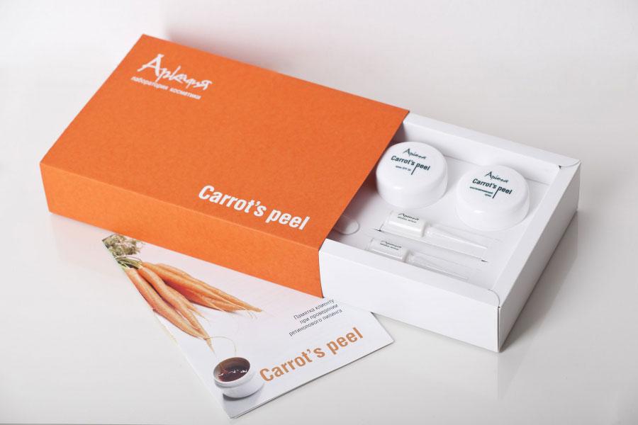 оранжевая упаковка