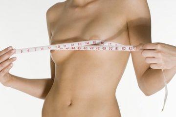 девушка с маленькой грудью и сантиметром вокруг