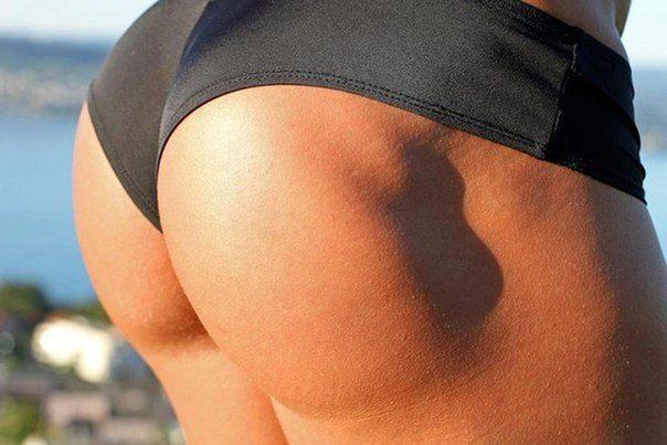 накаченная задница