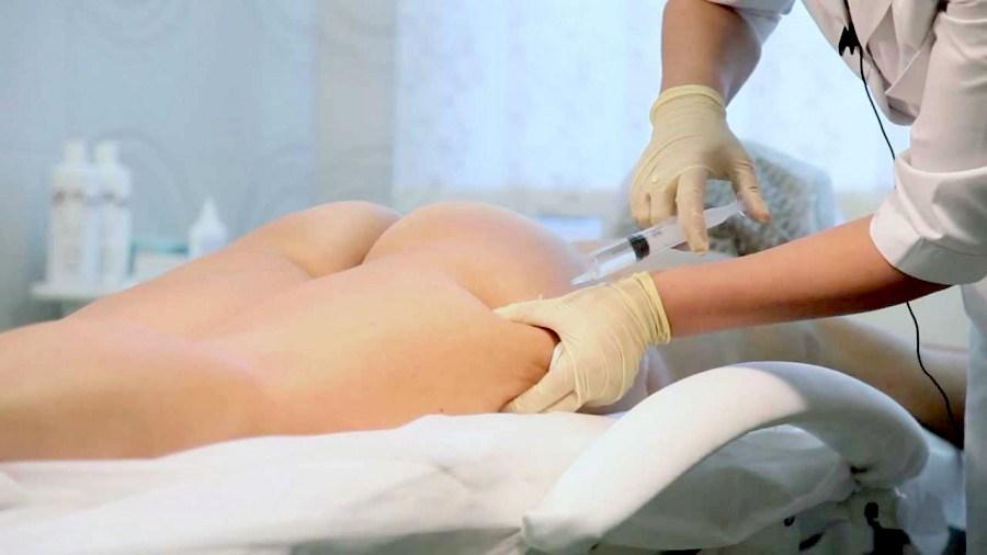 укол в жировую прослойку бедра