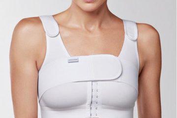 компрессионное белье белое с ремнем