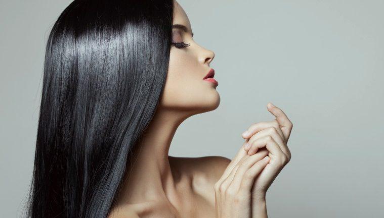 Шикарные прямые волосы