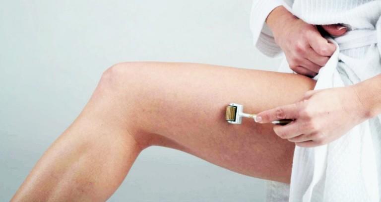 Использование мезороллера для тела