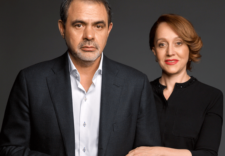 Сергей Блохин с женой
