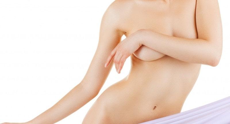 Женское оголенное тело