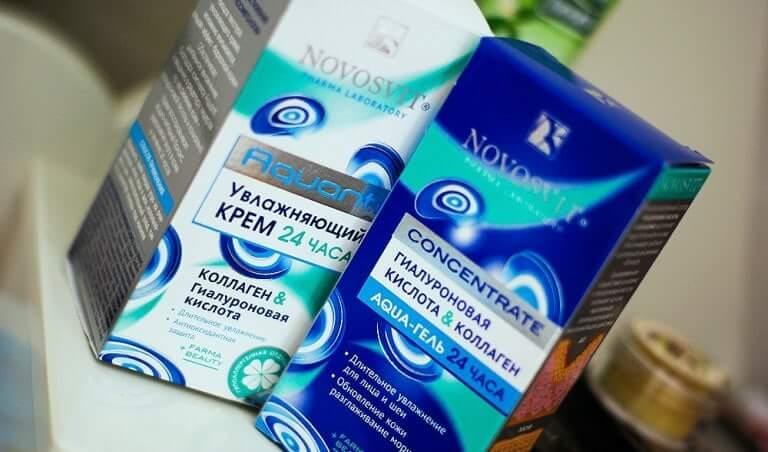 Коллаген и гиалуроновая кислота Новосвит
