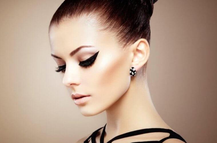Красивый макияж на лице