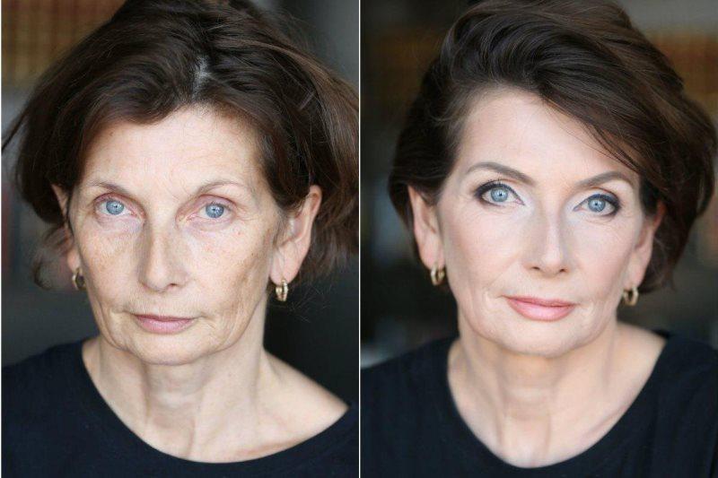 Как подтянуть щеки с помощью макияжа