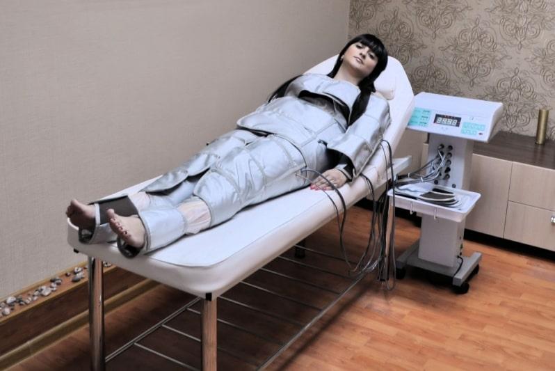 Проведение прессотерапии