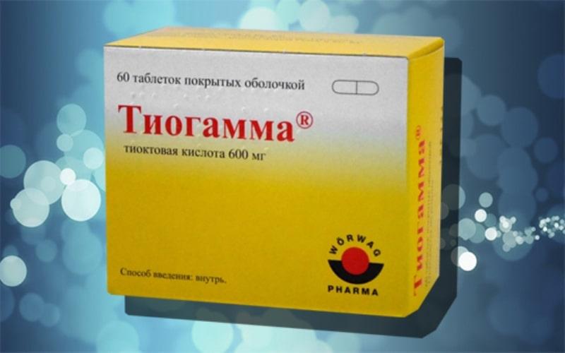 Препарат Тиогамма для лица
