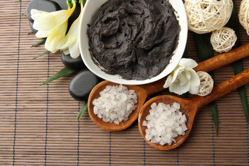 Черная глина от целлюлита