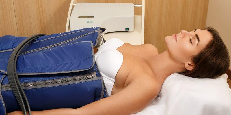 Проведение прессотерапии тела