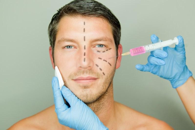 Пластика лица у мужчины