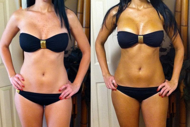 автозагар для тела: до и после