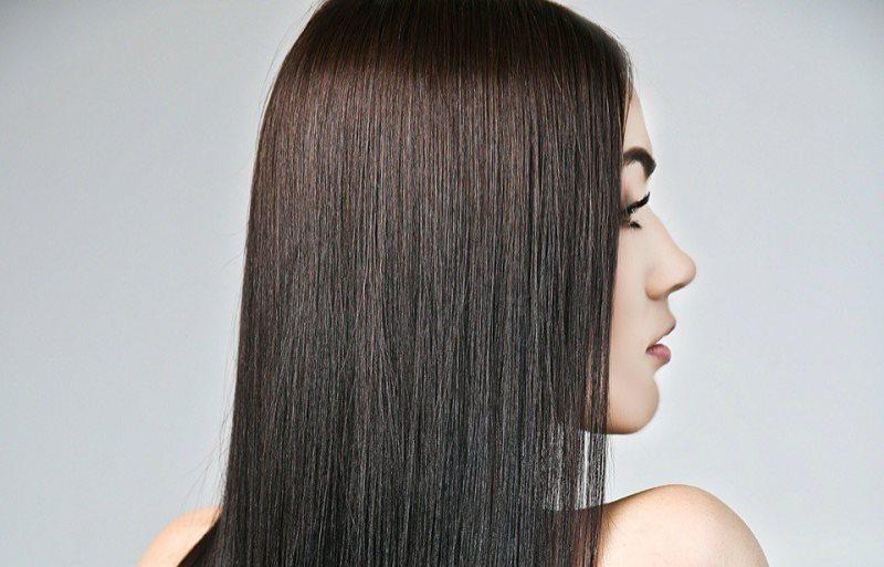 Красивые ровные волосы