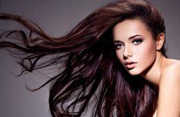 Девушка с шикарными волосами
