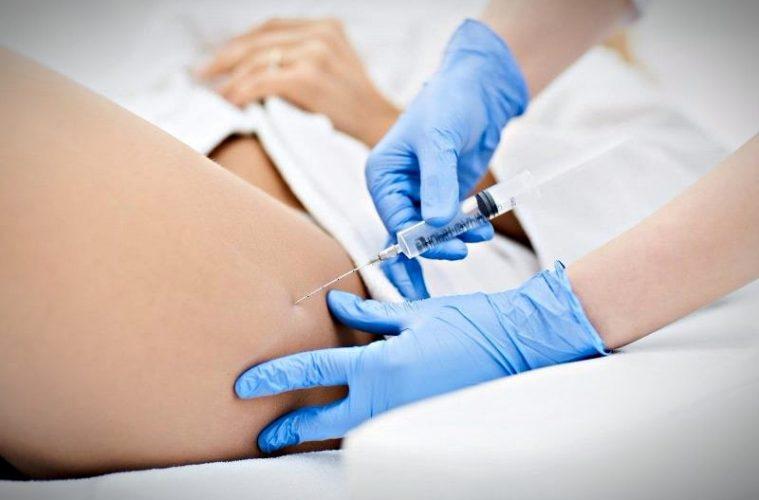 Проводится озонотерапия для похудения
