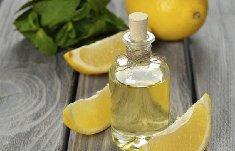 миндальное масло и лимоны