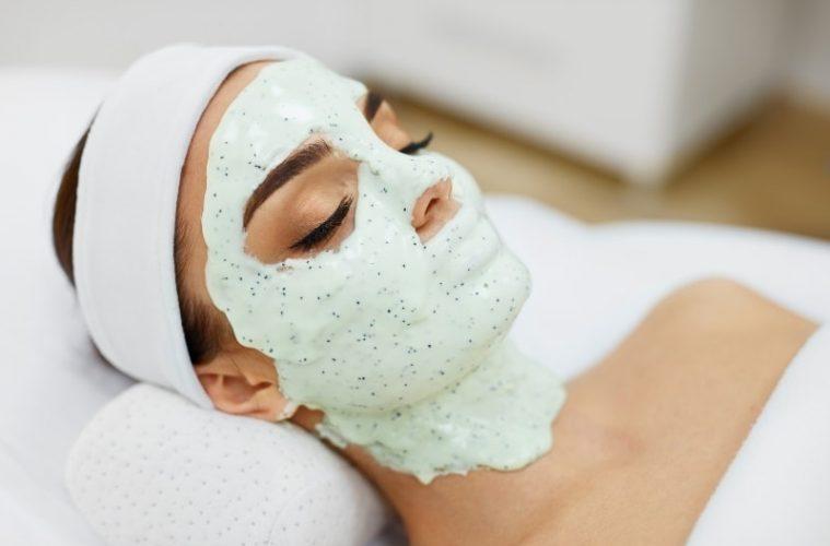 Альгинатные маски для лица на фото