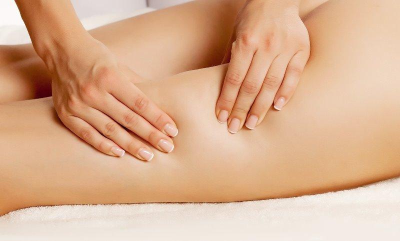 Как уменьшить бедра с помощью массажа