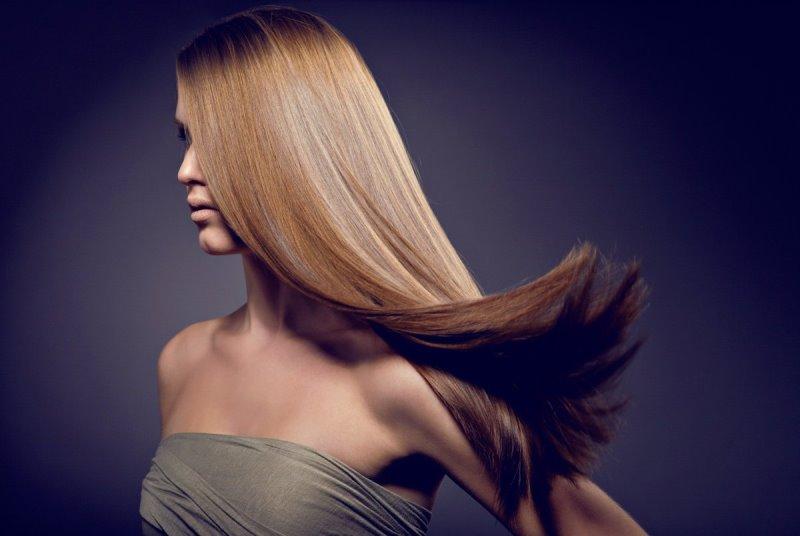 Ровные волосы после холодного Ботокса