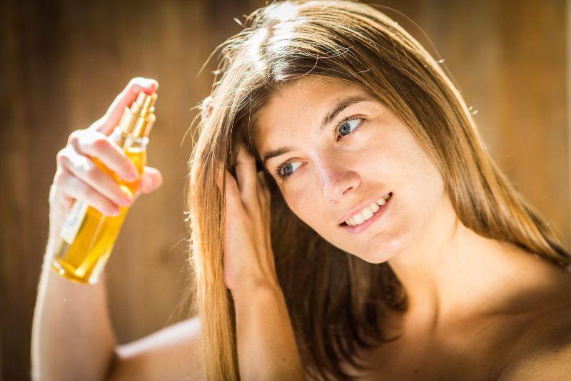 Использование масел для волос
